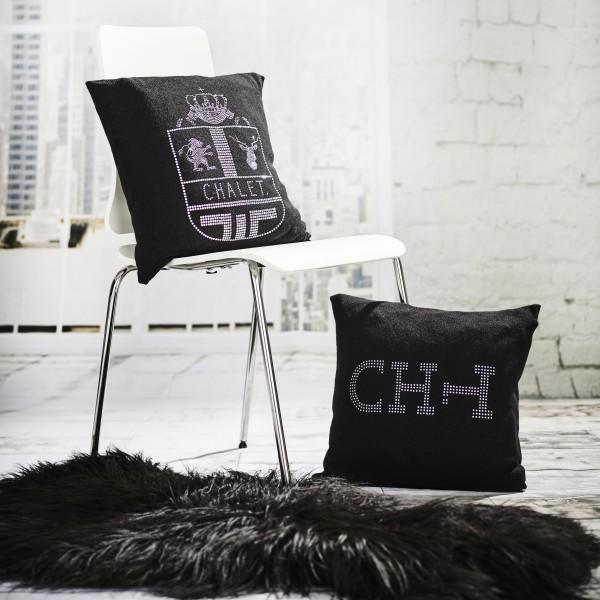 Kissen mit Logo CHT.